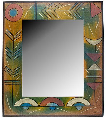 Large Mirror- Terra