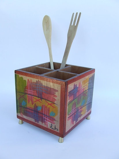 Cutlery holder Abstract