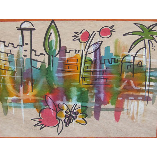 Placemats-Joyful Jerusalem