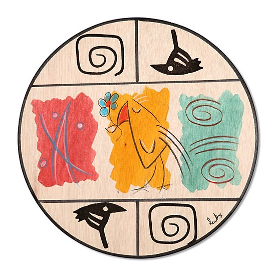 Round Placemats - Artist Palate