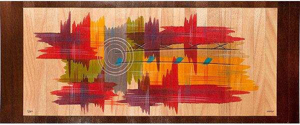Long Carpet- Abstract