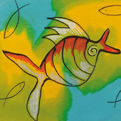 Placemats- Fish