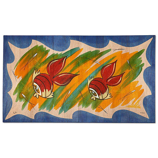 Small Carpet- Fish