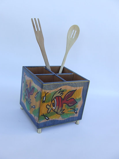 Cutlery holder Fish