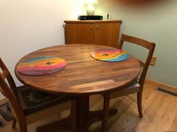 שולחן עם פלייסמטים