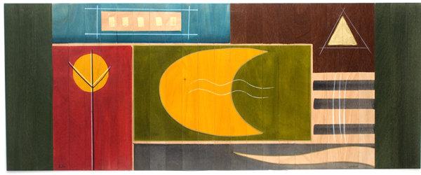 Long Carpet- Yellow Moon