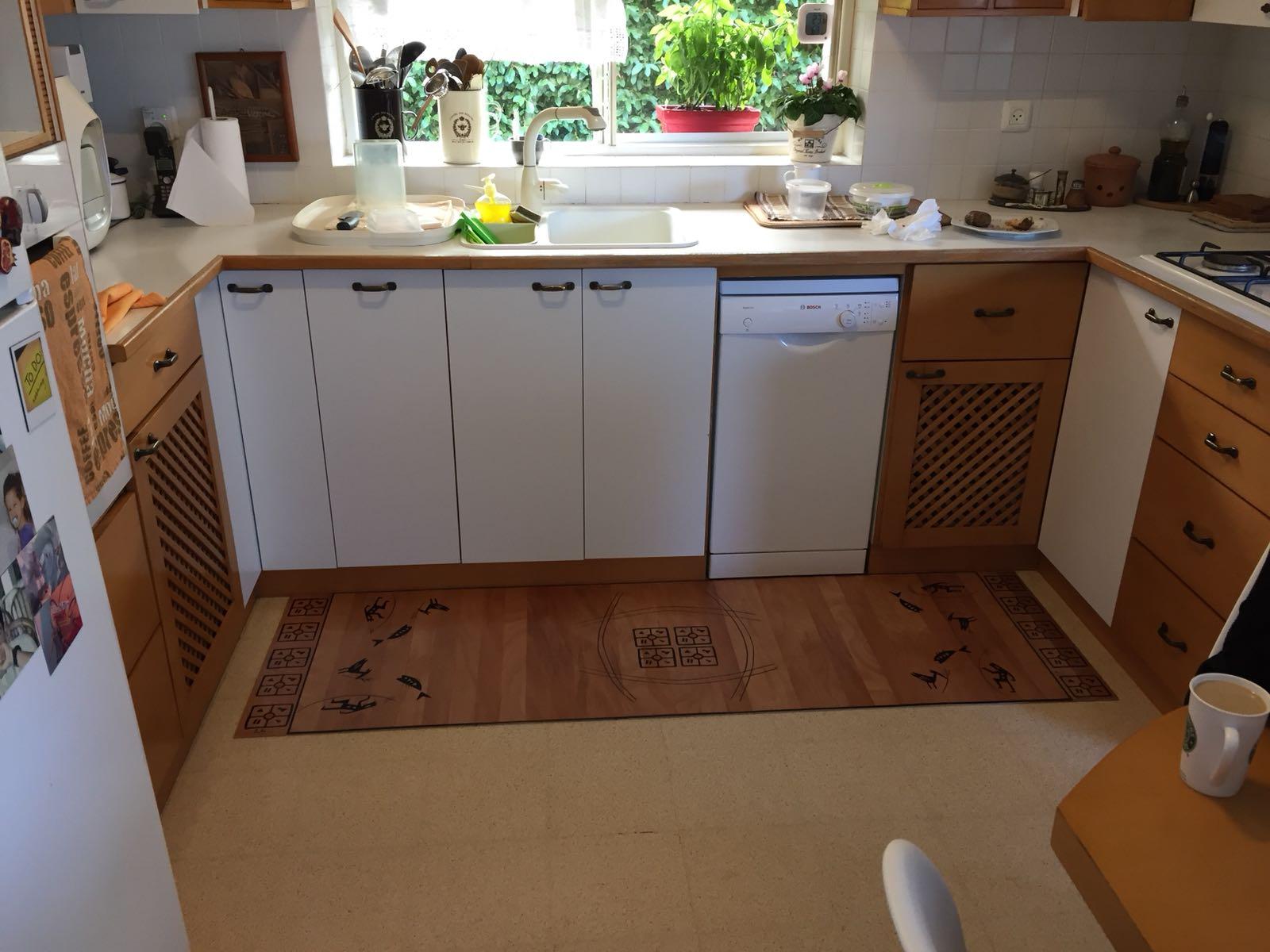 שטיח נאור במטבח