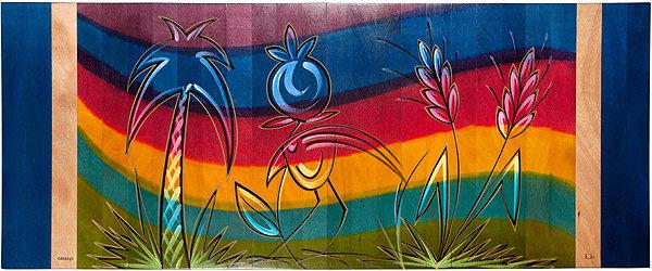 Long Carpet- Rainbow