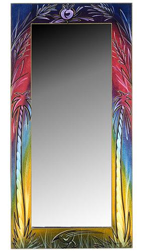 Large Mirror- Rainbow
