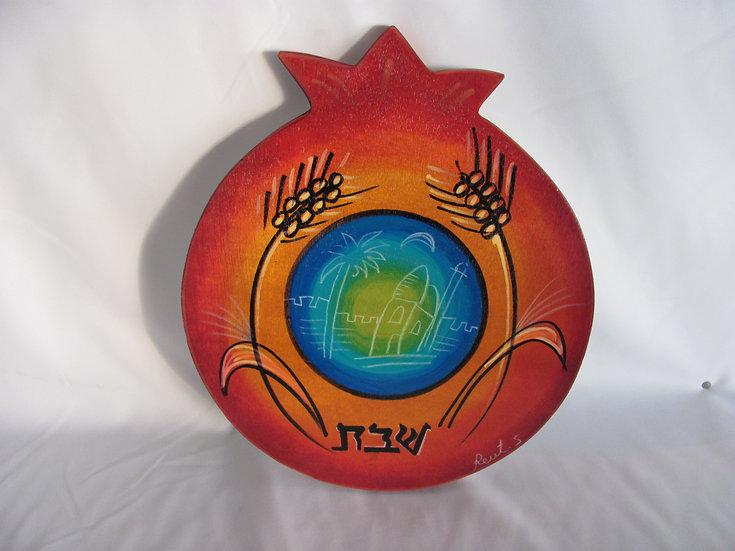 Round cutting board Peaceful Jerusalem