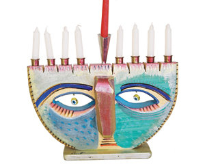 "Menorah ""Eyes """