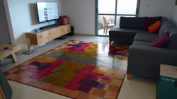 שטיח אבסטראקט ענק