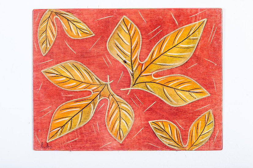 Placemats- Red Leaves