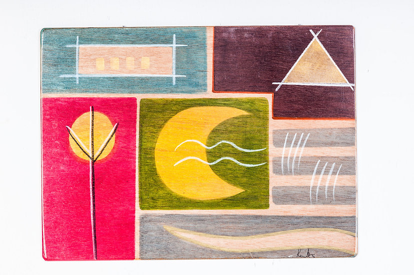 Placemats Yellow Moon