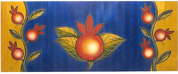 Long Carpet- Pomegranate