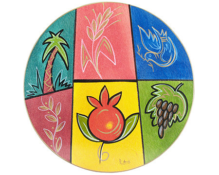 Round Placemats - Fields