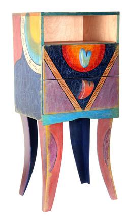 Sculptered Bad side cabinet