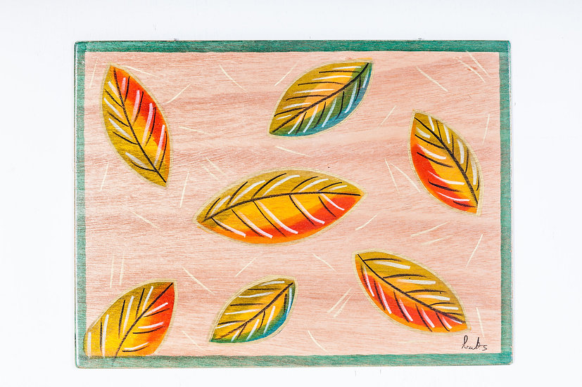 Placemats- Natural Leaves