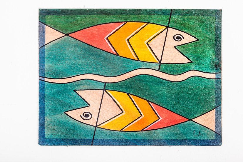 Placemats- Yin Fish