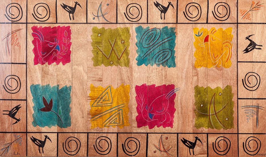 Small Carpet- Artist Plate