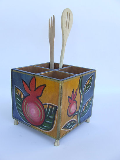 Cutlery holder Pomegranate