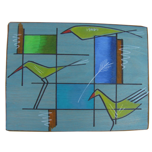 Placemats- Cubes Birds