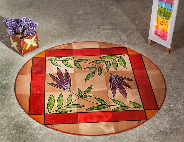 Round floor mat Adin