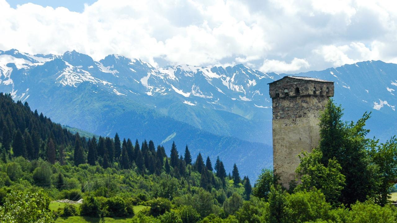 Yoga of the Caucasus Mountains