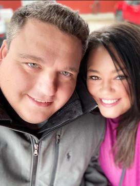 Amy and Brad