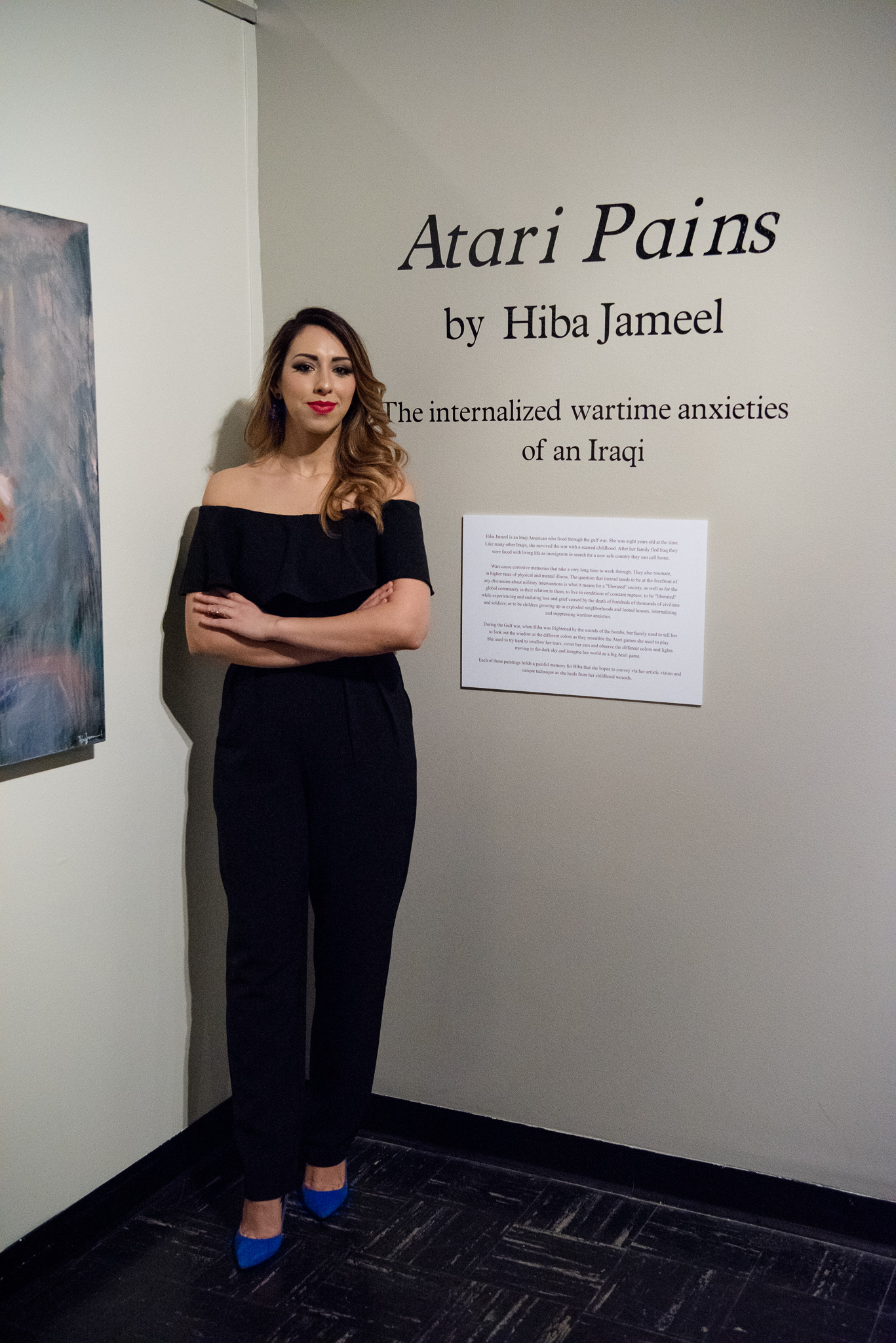 Atari Pains -Opening Reception