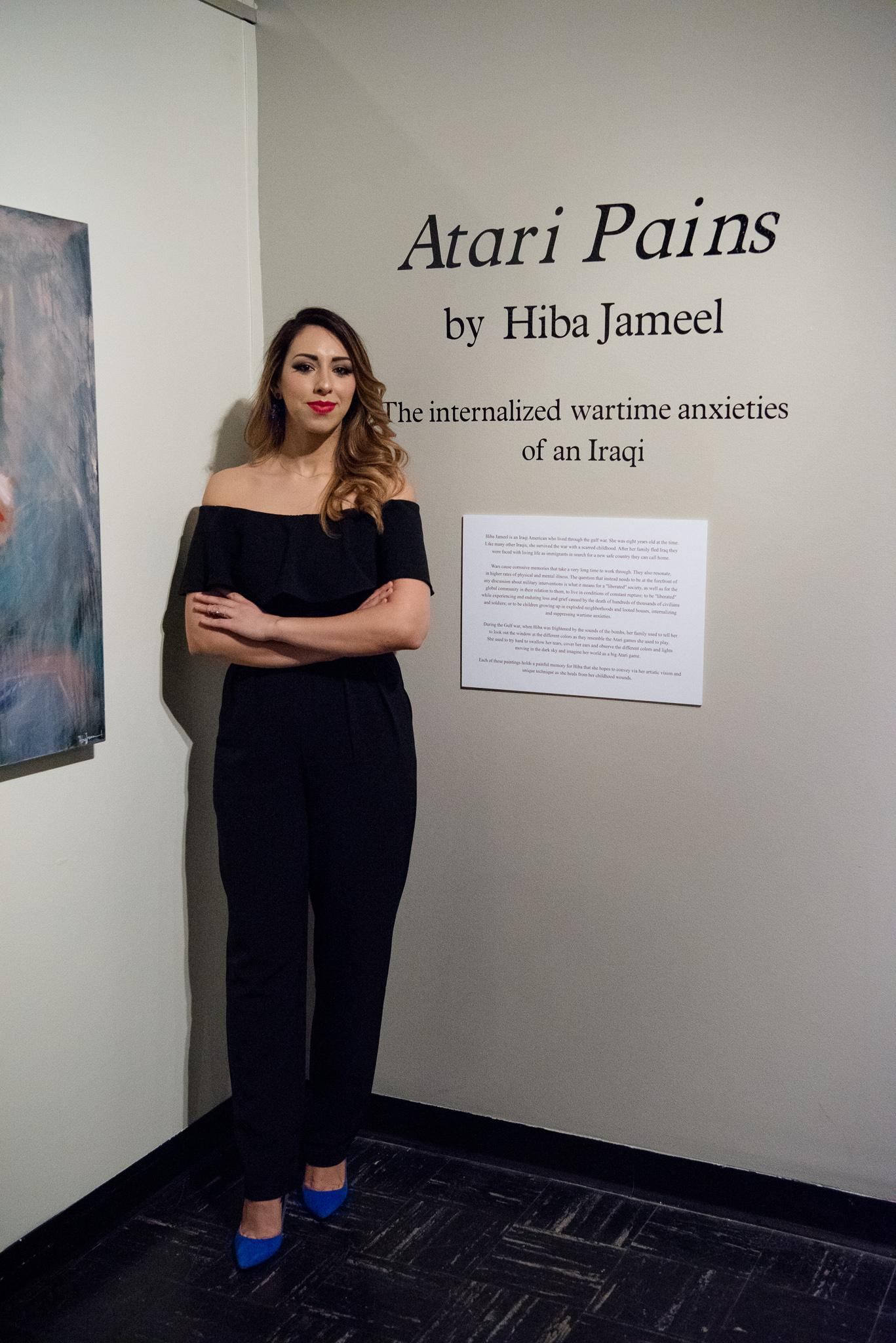 Atari Pains -Opening Reception
