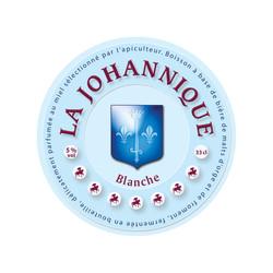 Etiquette bière La Johannique