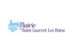 logo mairie Saint Laurent les Bains