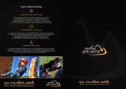 Logo et dossier Mobil'grimpe