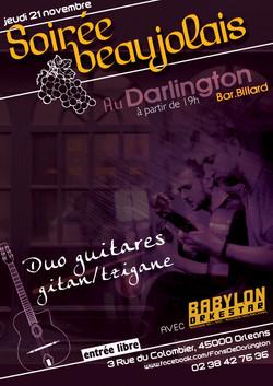 affiche beaujolais