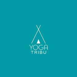 Carte visite recto Yoga Tribu