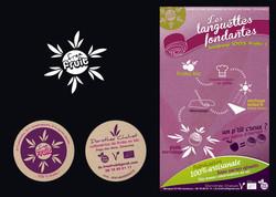 logo, affiche et CV freefruits