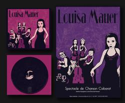 pochette cd Louisa mauer