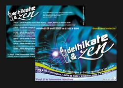 """flyer """"delhikate"""""""