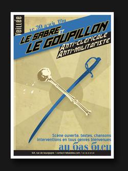 """affiche """"Sabre et Goupillon"""""""