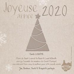 Voeux 2020 Saint Laurent les Bains