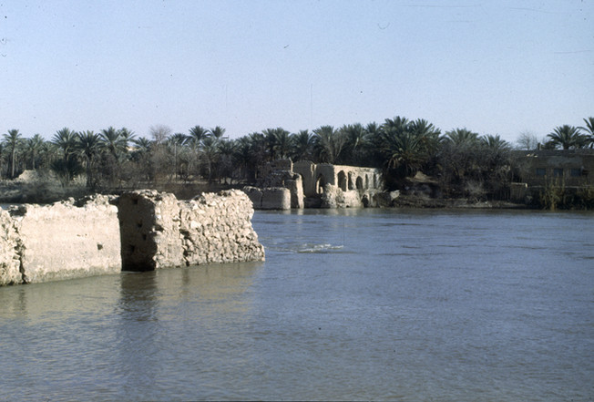 These are photos my parents took while they were in architecture school at the University of Baghdad.  Heet, 1980-1982