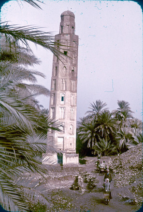 These are photos my parents took while they were in architecture school at the University of Baghdad. The minaret of Ana has since been destroyed.  Ana, 1980-1982