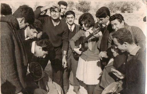 My dad Muafaq Wafi with his friends at a uni trip to Saddat al Hindiyah dam.  Saddat Al Hindiyah, 1964