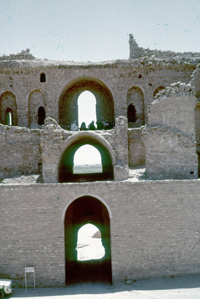 These are photos my parents took while they were in architecture school at the University of Baghdad.  Al Ukhaidir fortress, near Karbala, 1980-1982