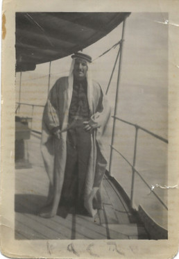 Jamal Kanbar Wafi  Al Faw port, Basra, 1946