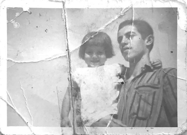 My uncle and my mother, أمي و خالي  Baqubeh, Diyala, 1969