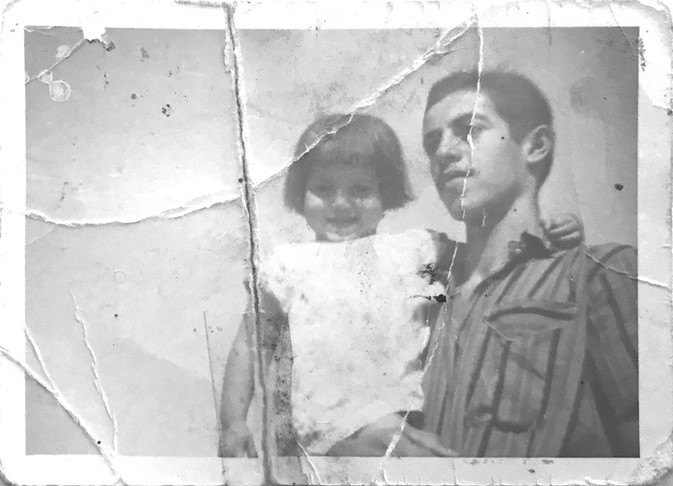 My uncle and my mother, أمي و خالي  Baqubeh, Diyala, 1969