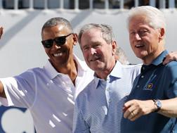 Obama, Bush và Clinton sẵn sàng tiêm vaccine corona công khai
