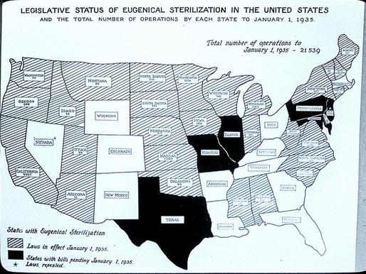 Triệt sản cưỡng chế và kế hoạch ưu sinh tại Mỹ
